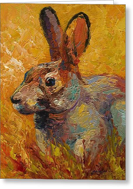 Forest Rabbit IIi Greeting Card