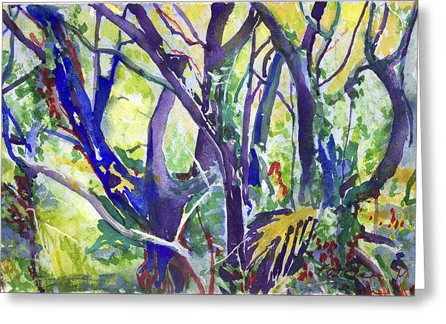 Forest Rainbow Greeting Card