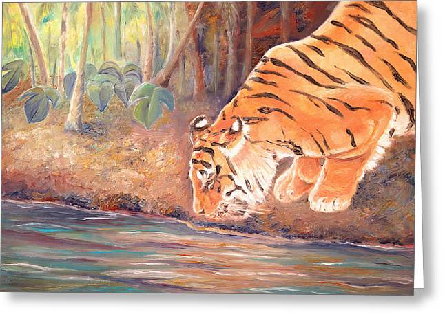 Forest Tiger Greeting Card