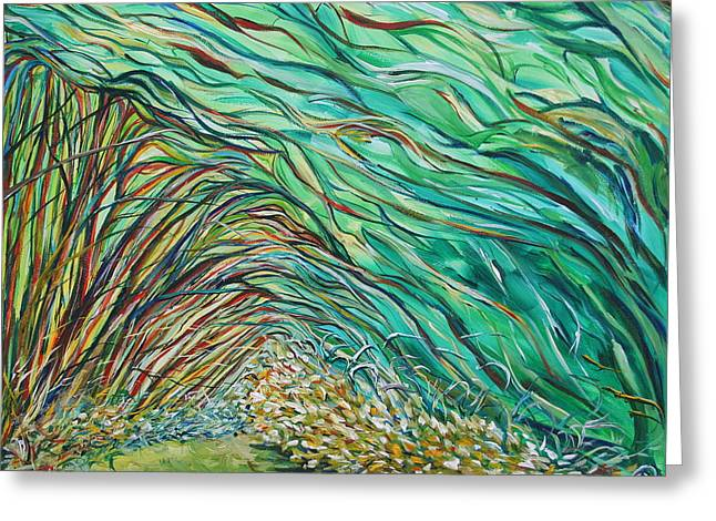 Forest Under The Sea Greeting Card