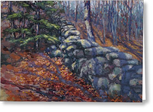 Forest Wall Greeting Card
