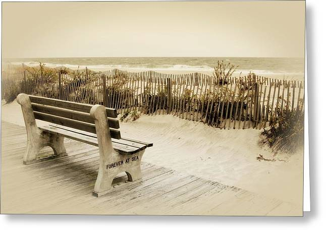 Forever At Sea - Jersey Shore Greeting Card