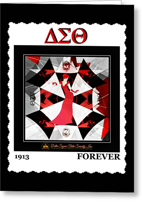 Forever Delta  Greeting Card