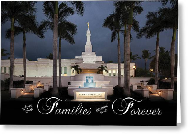 Forever Families Greeting Card