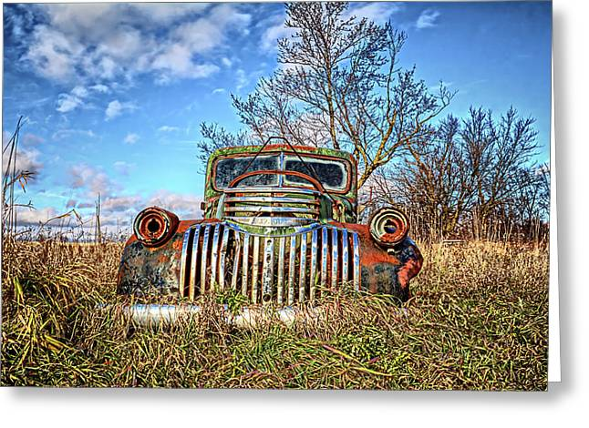 Braces Of Chrome Greeting Card by Bonfire Photography