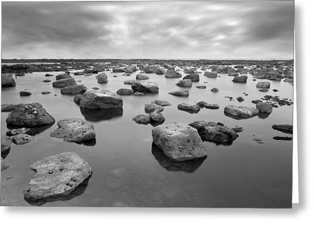Ocean. Reflection Greeting Cards - Forever Rocks Greeting Card by Svetlana Sewell