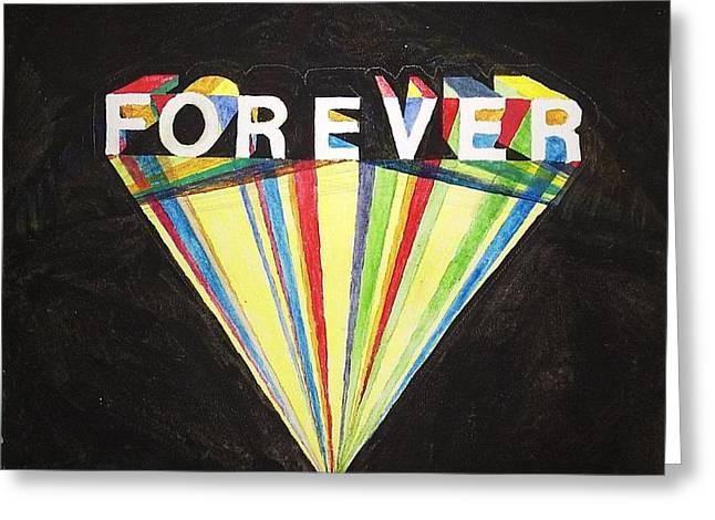 Forever Greeting Card by William Douglas