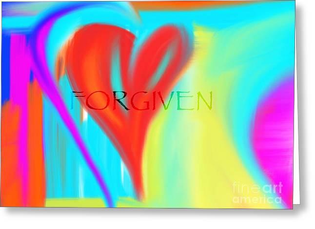 Forgiven Greeting Card