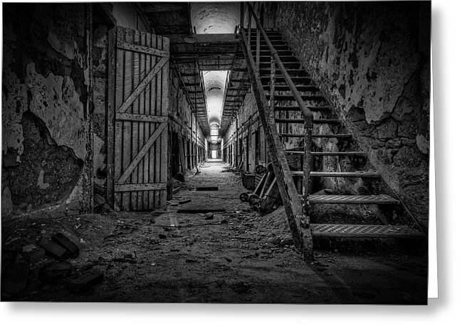 Forgotten Cell Block Greeting Card