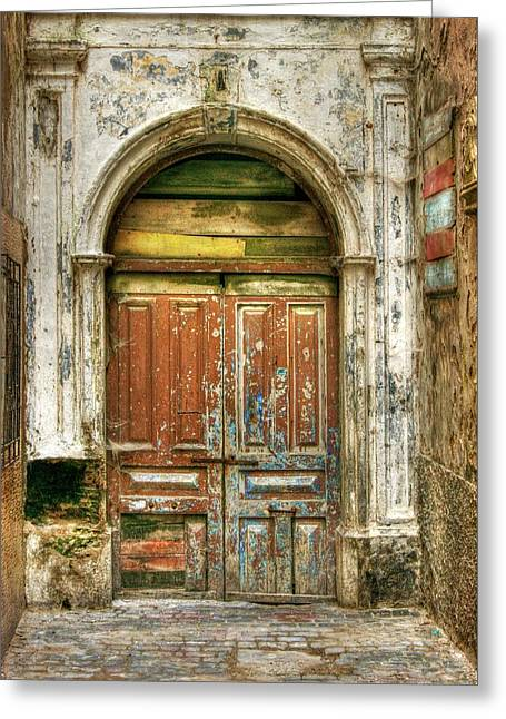 Forgotten Doorway Greeting Card