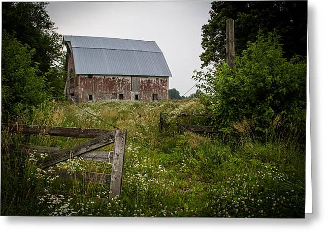 Forgotten Farm  Greeting Card by Off The Beaten Path Photography - Andrew Alexander
