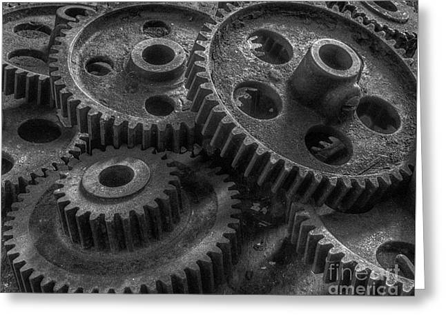 Forgotten Gears Greeting Card