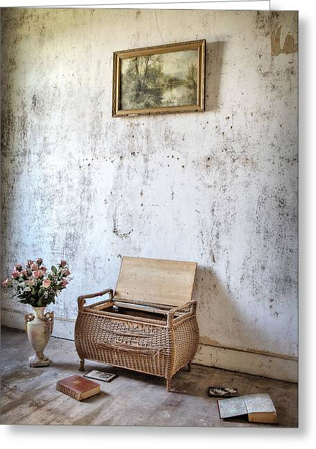 Forgotten Memories -urbex Greeting Card by Dirk Ercken