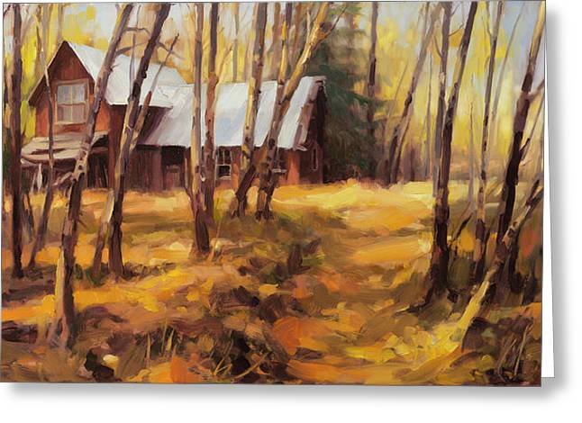 Forgotten Path Greeting Card by Steve Henderson