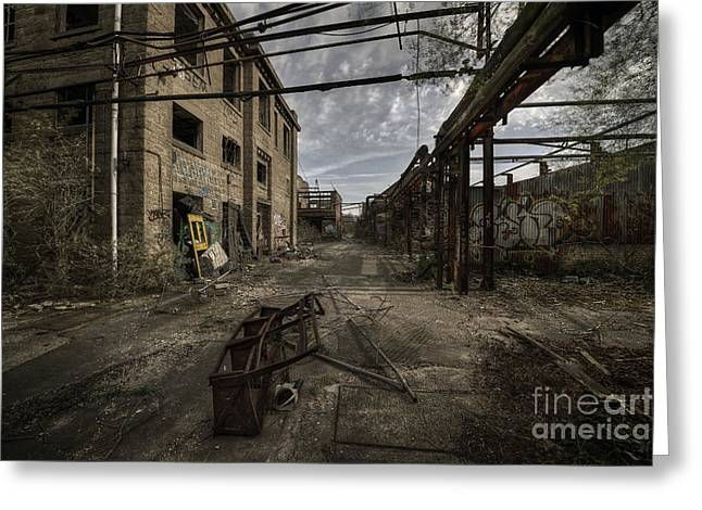 Forgotten Place Greeting Card by Svetlana Sewell