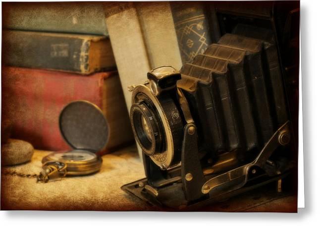 Elizabeth Budd Greeting Cards - Forgotten Realms Greeting Card by Elizabeth Budd