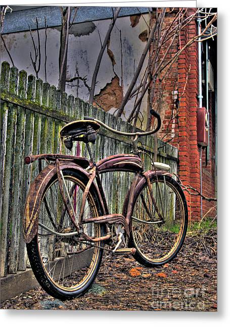 Greeting Card featuring the photograph Forgotten Ride 2 by Jim and Emily Bush