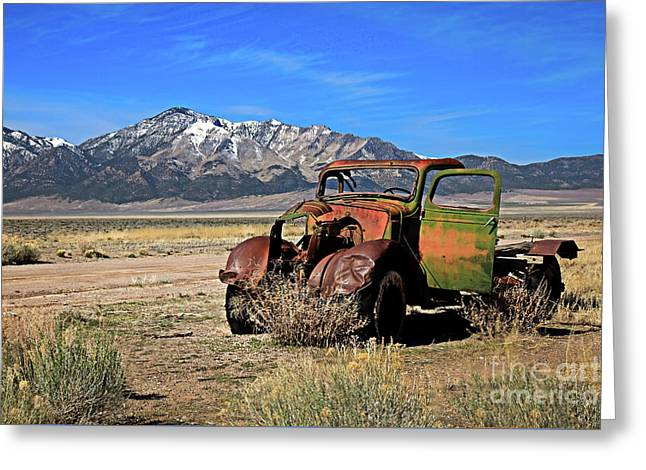 Greeting Card featuring the photograph Forgotten by Robert Bales