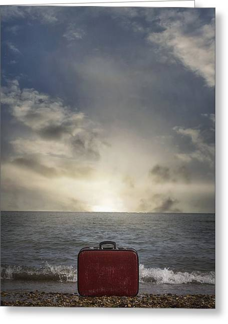Forgotten Suitcase Greeting Card