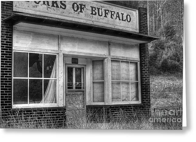 Forks Of Buffalo Greeting Card by Pete Hellmann