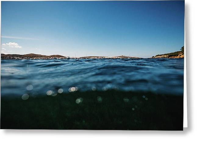 Fornells Bay Greeting Card