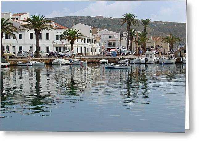 Fornells Harbour - Menorca Greeting Card