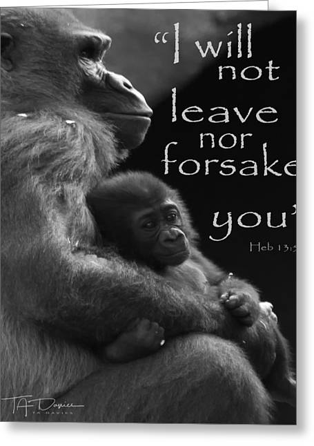 Forsake 11x14 Greeting Card