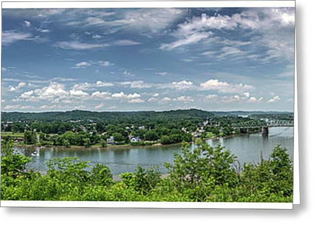 Fort Boreman Lookout Greeting Card