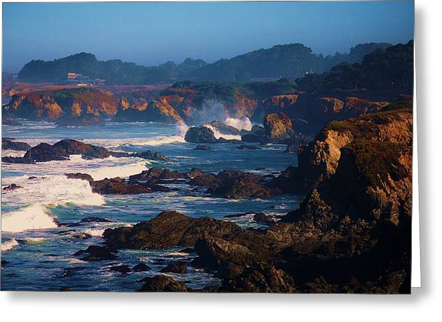 Fort Bragg Coastline Greeting Card