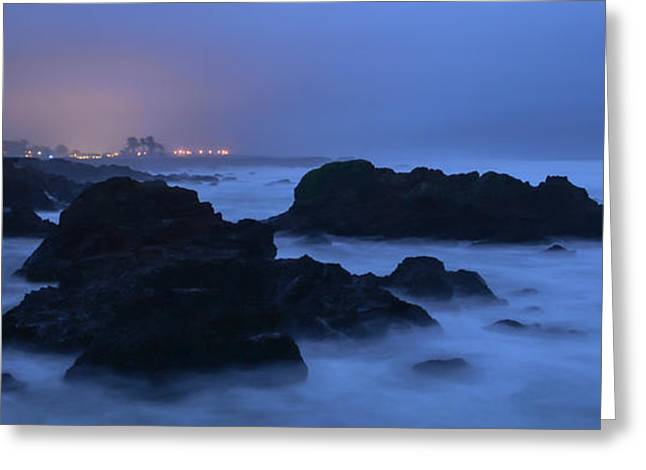 Fort Bragg Long Exposure Seascape I Greeting Card