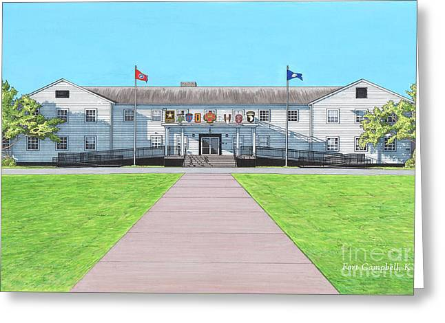 Fort Campbell Garrison Headquarters Greeting Card