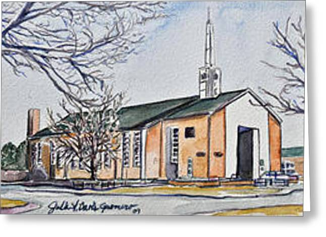 Soldier's Memorial Chapel Greeting Card