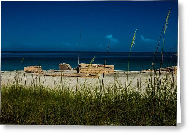 Fort Desoto Beach Greeting Card