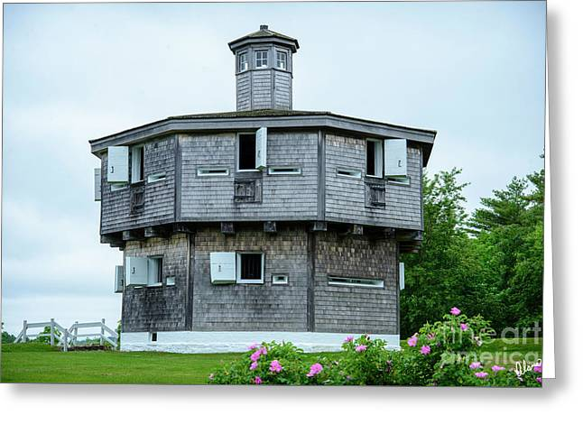 Fort Edgecomb State Historic Site Greeting Card