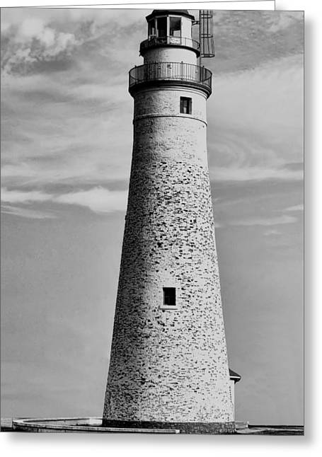 Fort Gratiot Lighthouse Greeting Card by Pat Cook