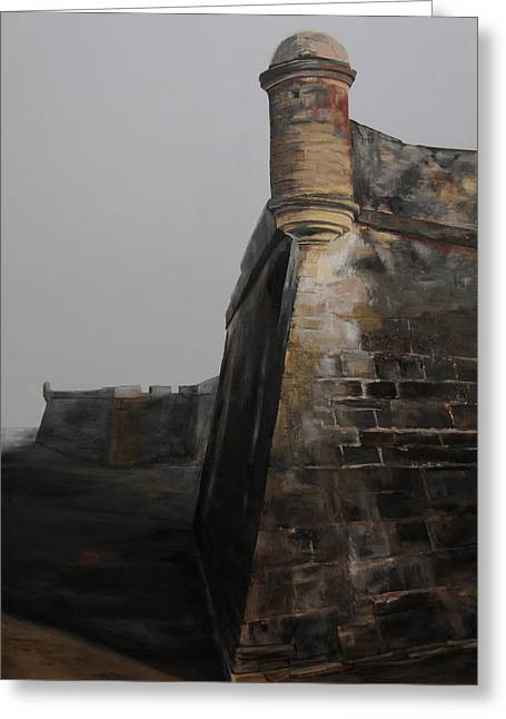 Fort In St. Augustine Greeting Card