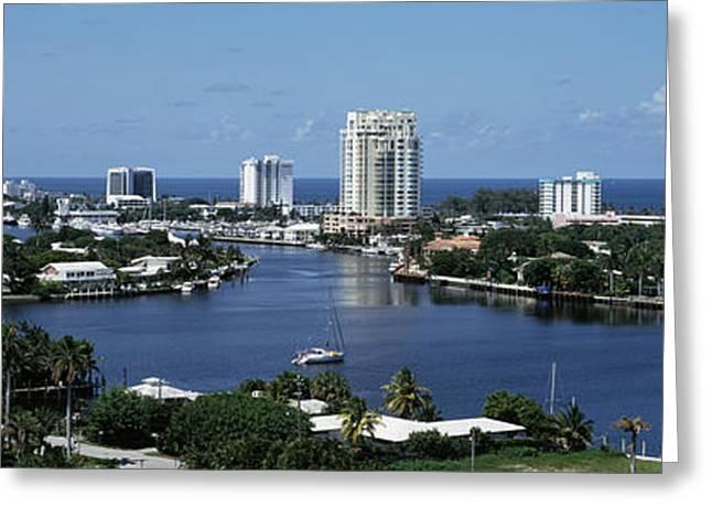 Fort Lauderdale, Florida, Usa Greeting Card