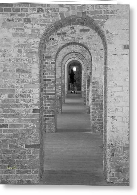 Harkers Greeting Cards - Fort Macon Going Home Greeting Card by Betsy C  Knapp