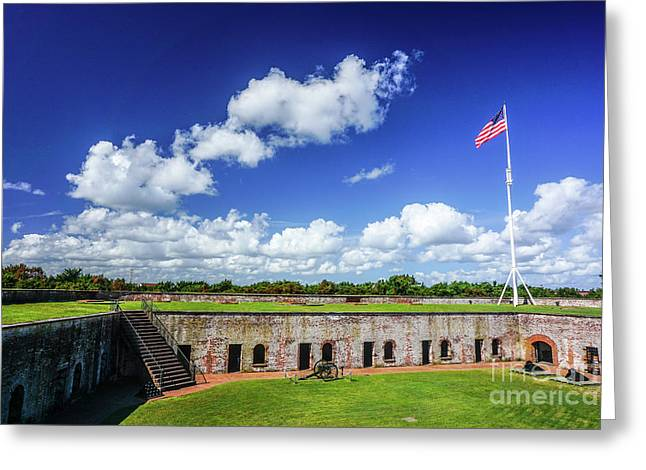 Fort Macon State Park Greeting Card