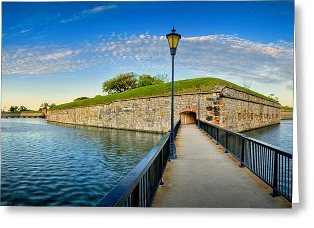 Fort Monroe Greeting Card