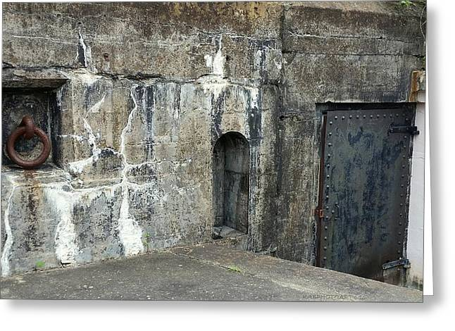 Fort Moultrie Greeting Card by Kathy Barney