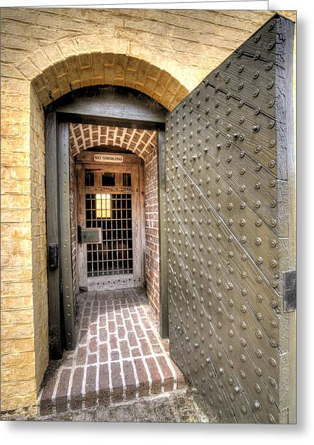 Fort Greeting Cards - Fort Moultrie Magazine Door Greeting Card by Dustin K Ryan