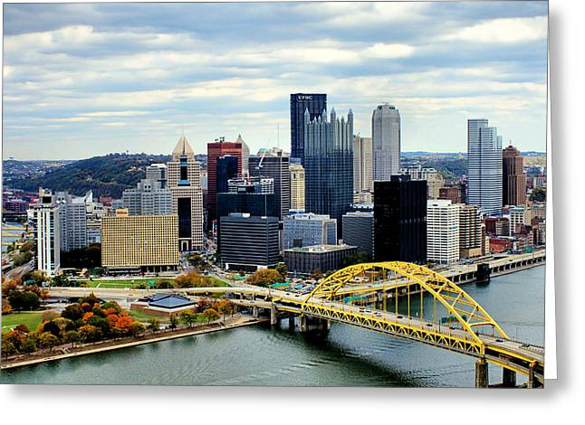 Fort Pitt Bridge Greeting Card