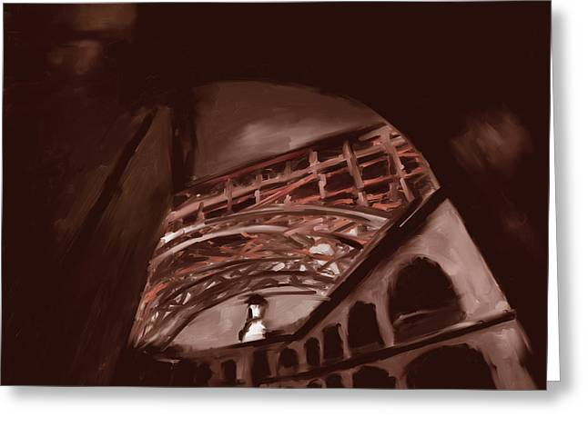 Fort Point Long Ave 553 4 Greeting Card by Mawra Tahreem