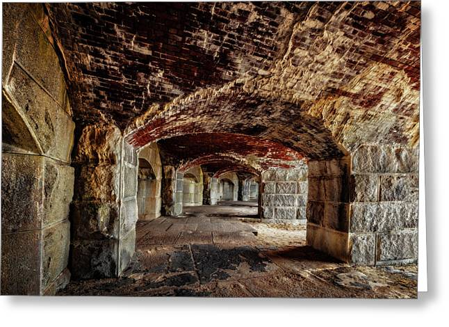 Fort Popham Greeting Card