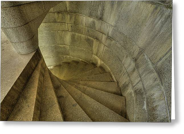 Fort Popham Stairwell Greeting Card