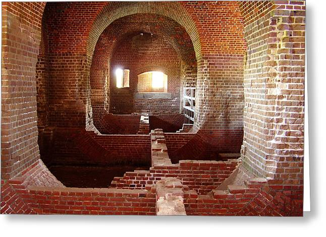 Fort Pulaski I Greeting Card by Flavia Westerwelle