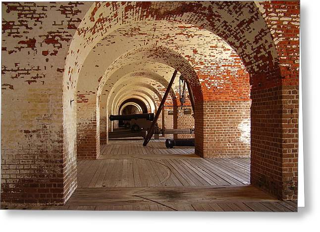 Fort Pulaski II Greeting Card by Flavia Westerwelle