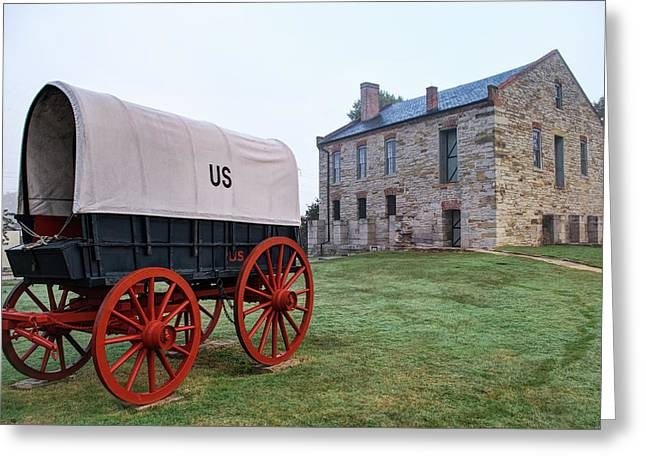 Fort Smith National Historic Site - Arkansas Greeting Card by Gregory Ballos