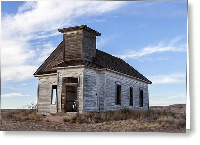 Fort Sumner - Abandoned Church Greeting Card